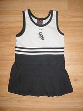 Nike-Girls-Chicago White Sox Gray Black White Dress-4-4T