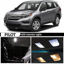 13x White LED Lights Interior Package Kit for 2016-2017 Honda Pilot + TOOL