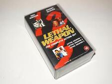 VHS Video ~ Lethal Weapon 1, 2, 3 ~ The Complete Action Set (Double VHS)