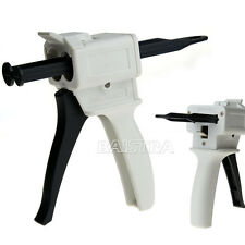 Sale Dental Impression Dispensing Mixing Dispenser Gun 1:1 / 2:1 Ratio 50ml