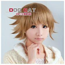 Danganronpa Dangan-Ronpa Chihiro Fujisaki Cosplay Costume Wig+ free wig cap