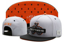 New Hip Hop Men's CAYLER Sons Hat adjustable Baseball Snapback Black Street cap