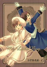 Hetalia Axis Powers Doujinshi Fan Comic LHK Spain x Romano My Little Boy