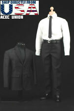 1/6 Men Business Suit Agent Set For Hot Toys Phicen Male Figure U.S.A. SELLER