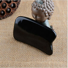 Black Beeswax Whole Body Gua Sha Point bar Beauty Roller Scrapping Plate Massage