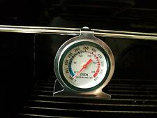 Savisto Stainless Steel Oven Thermometer / Temperature Gauge For Pizza Ovens SA
