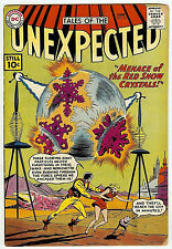 TALES OF THE UNEXPECTED #62 (DC 1961, fn 6.0) guide value: $45.00 (£30.00)