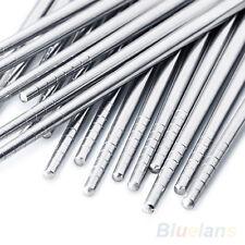 Popular  Chinese Stylish Non-slip Design  Chop Sticks Stainless Steel Chopsticks
