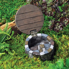 Miniature Fairy Garden Gnome Hatch w hinged Door /Gnome Hobbit 17236
