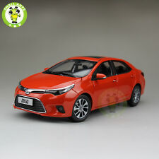 1:18 Toyota Levin Corolla diecast car model Orange