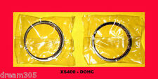 Yamaha XS400 Piston Rings Set x2 1982 1983 DOHC Seca Maxim STD. size Motorcycle