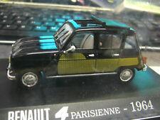 RENAULT 4 Parisienne 1964 schwarz black green Altaya Norev 1:43