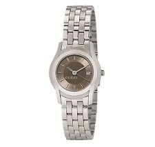 Gucci YA055524 G-Class Brown Dial New & Authentic Women's Watch - Sale