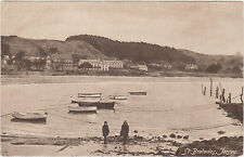 St.Brelade,Jersey,U.K.Port with Small Fishing Boats,Used,1922