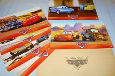 CARS   ! w disney jeu  photos cinema lobby cards animation pixar flash mac queen
