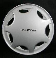 1991  Hyundai Excel wheel cover, OEM # 5296024620, Hollander # 555209,   91