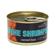 Premium Quality Fresh Sealed Canned Brine Shrimps 100 gram Can