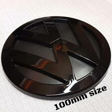 Volkswagen Golf Mk5 V Rear Black Glossy Badge Logo Boot Rear Emblem 10cm 100mm