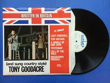 Written In Britain - and sung country style - Tony Goodacre, Outlet SBOL-4027