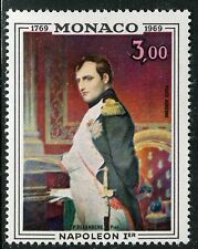 MONACO 1969 NAPOLEON I/BICENTENARY of BIRTH/PAINTING by DELAROCHE/ART/ROYALT MNH