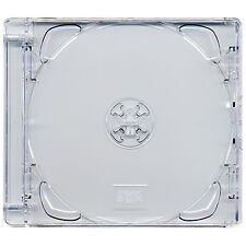 5 X Four Square Brand New CD Super Jewel Box 10.4mm Case for 2 Discs Clear Tray