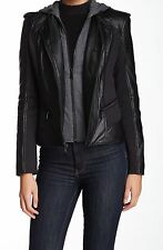 Marc New York Andrew Marc NEW Black Medium M Motorcycle Leather $550 #896 DEAL