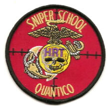 KANDAHAR WHACKER USMC QUANTICO HRT LONG RANGE DEATH SNIPER SCHOOL INSIGNIA PATCH
