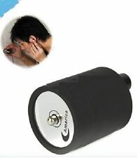 Black Spy Ear Amplifier Bug Wall Listening Device Audio Listening Wiretap Device