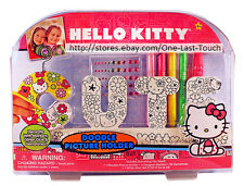 HELLO KITTY By SANRIO 56pc Set DOODLE PICTURE HOLDER Decorate Yourself CUTE