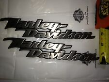 $BIG SALE!!!$  HARLEY DAVIDSON FUEL GAS TANK  EMBLEMS MEDALLION PAIR