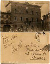 Greve in chianti, Firenze, palazzo municipale, animata, viaggiata