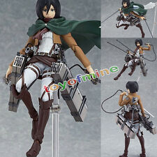 Anime Attack on Titan Shingeki no Kyojin Mikasa Ackerman Chiffre Figurine