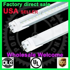 1Pack UL 18 Watt 4Ft milky cover White 6000K LED T8 Fluorescent Tube Light  G13