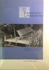 Louisiana Literature: Review of Literature and the Humanities vol. 17 no. 1 2000