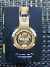 Genuine Monster 24K Over-Ear Headphones  DJ Headphones - Gold