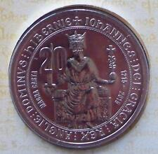 2015 800TH ANNIVERSARY OF THE MAGNA CARTA  20 CENT UNCIRCULATED MINT COIN