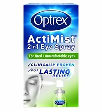 Optrex ActiMist 2in1 Eye Spray for tired + uncomfortable Eyes  10ml fast relief