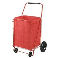 Folding Shopping Cart Large Grocery Basket Collapsible Portable Laundry Liner