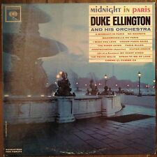 Midnight In Paris Duke Ellington LP Records Vinyl Album CL 1907