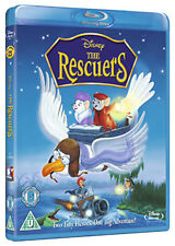 THE RESCUERS - BLU-RAY - REGION B UK
