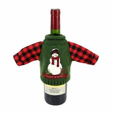 St Nicholas Square Wine Bottle Covers Warm Wishes Sweater