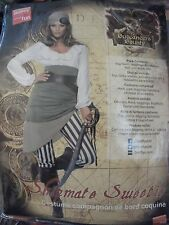 NUOVO Smiffy's Women's Pirate compagna Tesoro Costume UK 12.