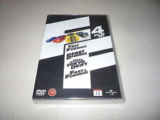 FAST & FURIOUS 4 FILM BOX SET BRAND NEW AND SEALED