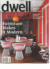DWELL, AT HOME IN THE MODERN WORLD  SEPTEMBER, 2015  ( FURNITURE MAKE IT MODERN