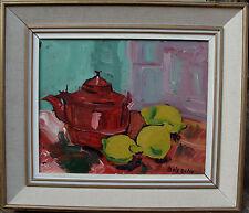 Louis Zelig 1922-1993, Drei Zitronen und roter Kessel, um 1950