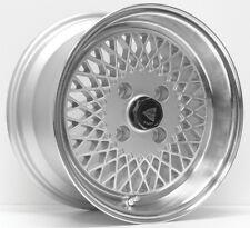 15x8 Enkei ENKEI92 4x100 + 25 Silver Wheels (Set of 4)