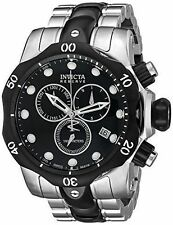 Invicta Men's 5727 Reserve Collection Black Ion-Plated and Clasp Defective