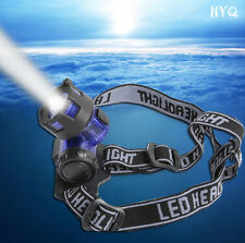 Torch CREE 2000LM flashlight Headlight LED Light Head Lamp Headlamp XM-L XML T6