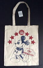 DISNEY Vintage MICKEY MOUSE Americana Canvas Tote from Primark