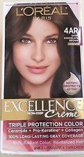 L'Oreal Excellence Hair Color #4AR, Dark Chocolate Brown